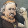 Rembrandt selfie