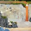 Wall at Torcross