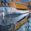 Ship reflected